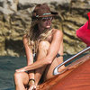 Elle Macpherson Bikini Pictures in Ibiza