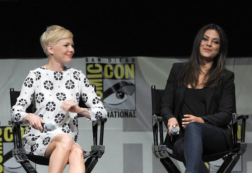 Michelle Williams and Mila Kunis spoke about Oz: The Great and Powerful at Comic-Con.