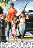 Katie Holmes and Suri Cruise were out and about in NYC.