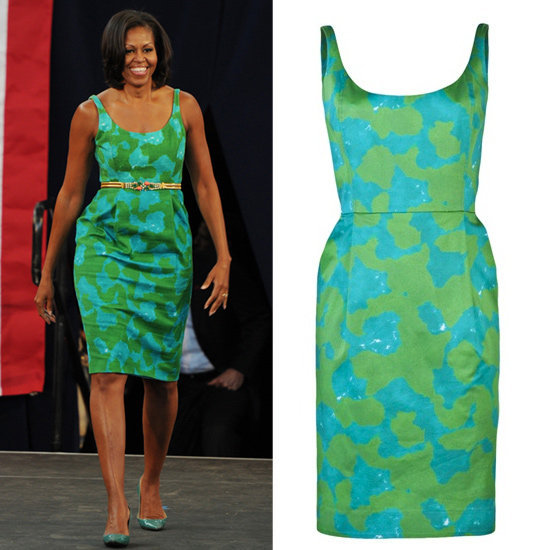 Get Michelle Obama's latest look.