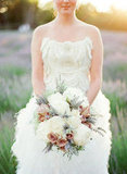 Lavender in the Bouquet Photo by KT Merry Photography via Style Me Pretty