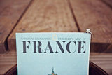 A Map of France Photo by Papered Heart via Style Me Pretty