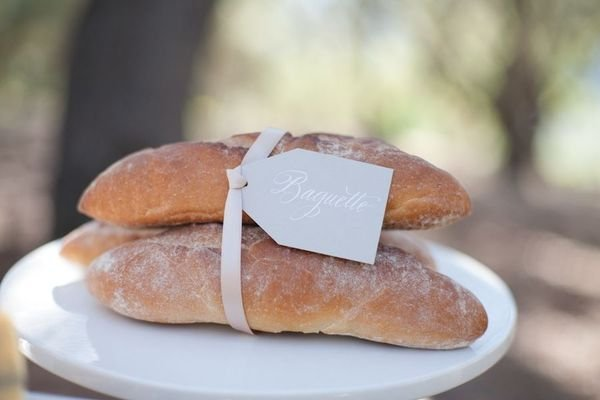 Baguettes Photo by Michael and Anna Costa via Style Me Pretty