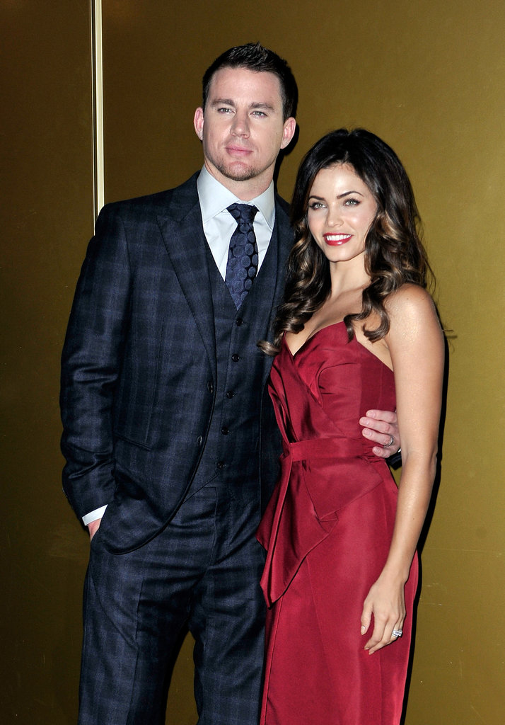Channing Tatum and his wife Jenna Dawson were also in attendance.