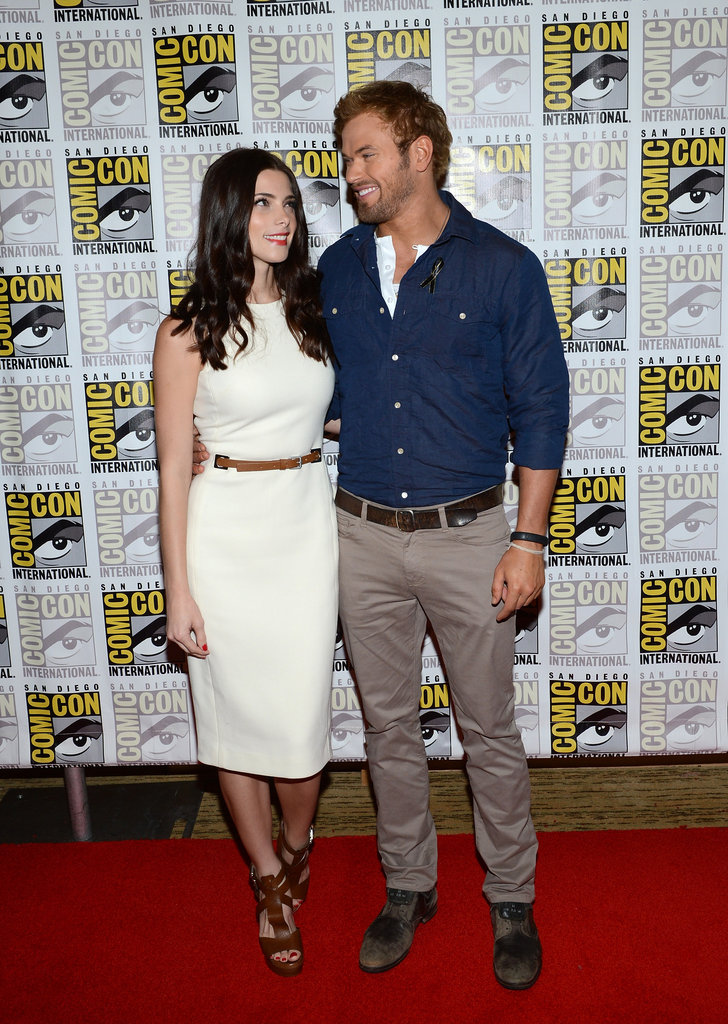 Ashley Greene and Kellan Lutz made a stylish pair.