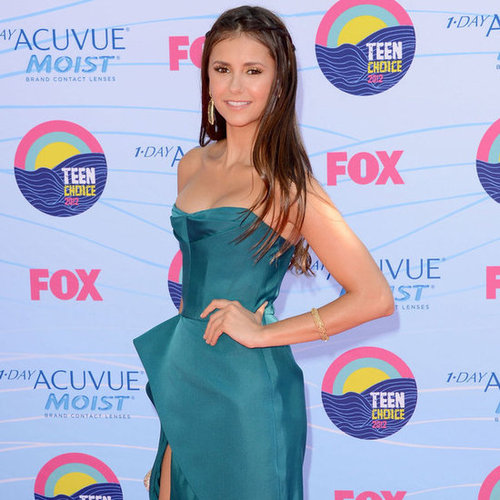 Nina Dobrev and Ian Somerhalder Pictures at 2012 Teen Choice Awards