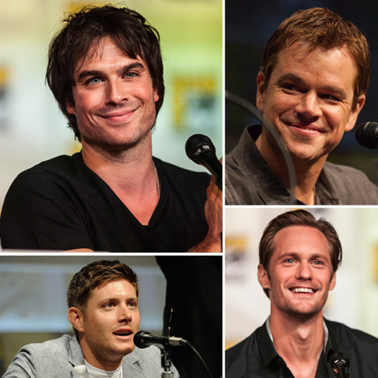 The Boys of Comic-Con: Hot Pictures That'll Make You Wish You'd Been in San Diego