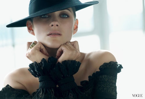 Marion Cotillard Gets Glam For the New Vogue