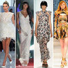 Models' British Fashion Tribute at Olympics Closing Ceremony