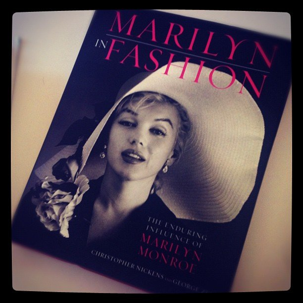 "POPSUGAR Fashion says, ""Can't wait to dive into this #MarilynMonroe coffee table book!"""