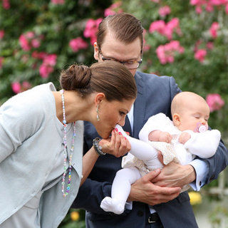 Princess Victoria and Princess Estelle at Victoriadagen