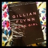 "Brittsteps picked up Gillian Flynn's Gone Girl. She writes, ""Wild Saturday night!"""