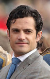 Prince Carl Philip is third in line to Sweden's throne.