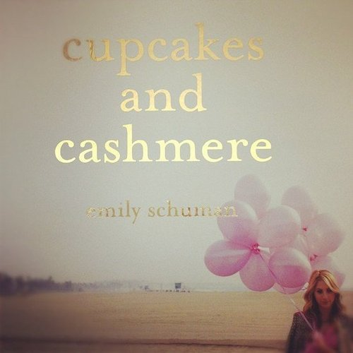"Gracehitchcock says Emily Schuman's Cupcakes and Cashmere book ""landed on my desk today!"""