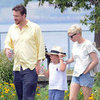 Michelle Williams, Matilda Ledger and Jason Segel Pictures in NYC