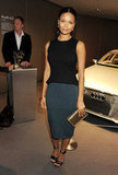 Thandie Newton attended an Audi party.