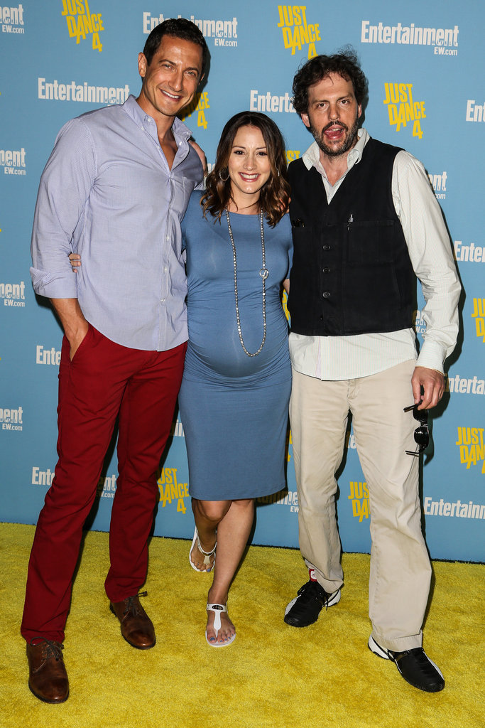 Bree Turner posed with her Grimm castmates.