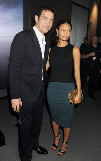 Clive Owen and Thandie Newton went to an Audi event.