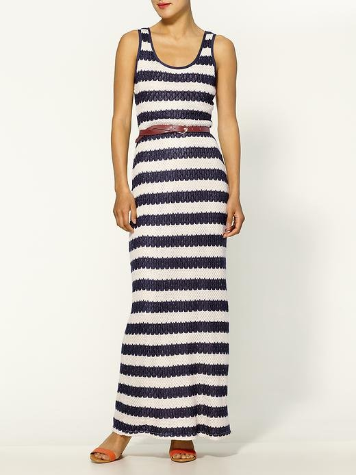 Talk about easy — this dress was made for wearing just about anywhere with its perfectly laid-back Summer vibe.  Pim + Larkin Crochet Striped Maxi Dress ($79)