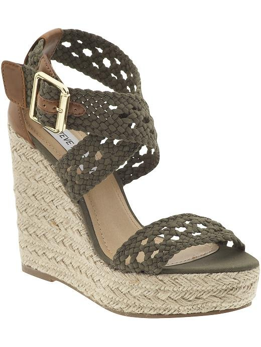 Appear as stylish as you hope to be — even when you can't stand the thought of wearing heels — with these comfy wedges.  Steve Madden Magestee Wedge ($50, originally $69)