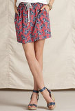 This mini's made for throwing on over your bikini at the beach or dressing up with wedges and a blouse.  Tommy Hilfiger Skirt, Somers A-Line Printed Belted Mini ($33, originally $90)