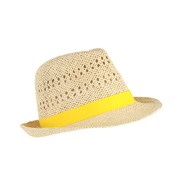 The bright yellow band will refresh your Summer style on the go.  Forever 21 Classic Straw Fedora ($13)