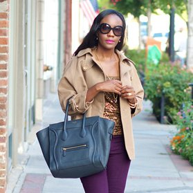 Sophisticated City Girl Street Style