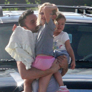 Ben Affleck Welcomes Jennifer Garner and Kids Violet, Seraphina and Samuel to Puerto Rico