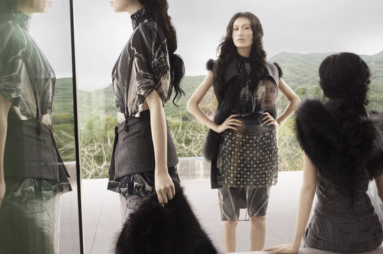 Vera Wang Fall 2012 Ad Campaign