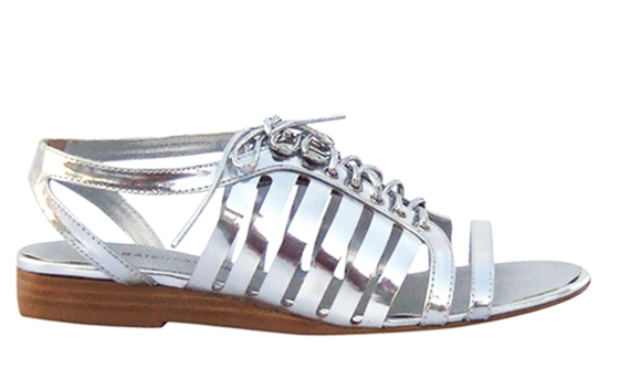 We love a good rendition of metallic shine, but it's important to keep it as professional as possible, too. For us, these silver gladiator sandals are polished and powerful. Marais USA Gladiator Silver Sandal ($58)