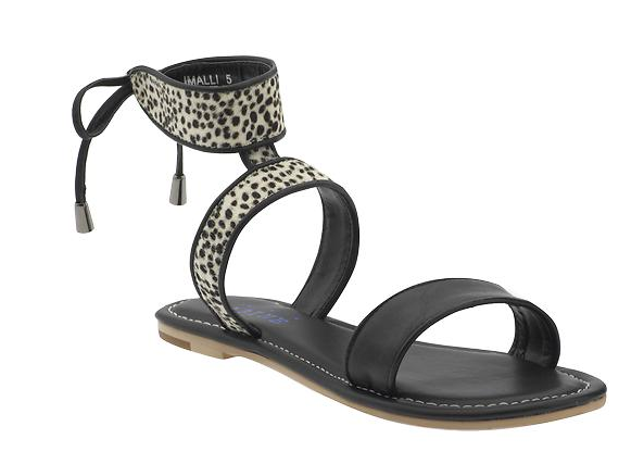 Animal prints can be tricky at work, but this low-key pop of exotic texture adds just the right amount of interest. Imalli Sandal by Sabine ($40)