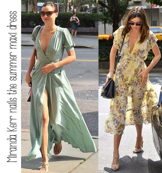 Casual maxi dresses 2012