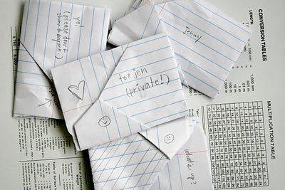 Folded Notes