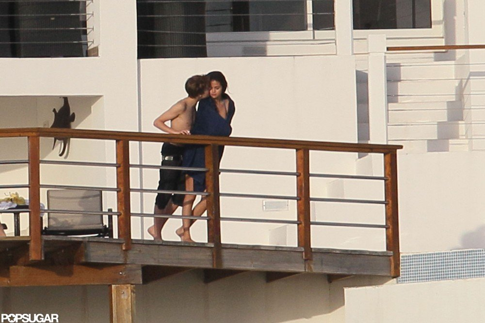 Justin Bieber and Selena Gomez spent time together on vacation in the Caribbean in December 2011.