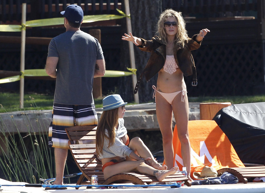 LeAnn Rimes Logs Bikini Time on a Lake With Eddie Cibrian and Friends