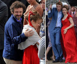 Rachel McAdams Gets a Little Loving From Her Main Man Michael Sheen