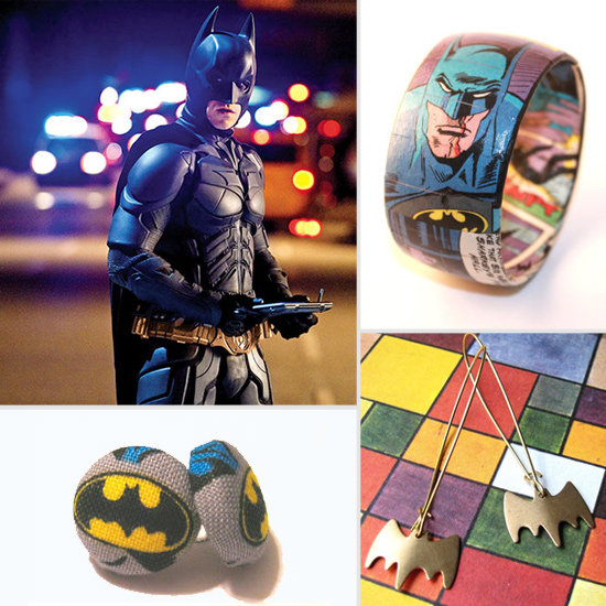 Channel the Dark Knight Spirit With Superglam Batman Bling