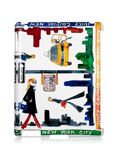 Make a quirky statement in this whimsical hard case featuring an artsy NYC theme.  Juicy Couture NY Case For iPad ($58)
