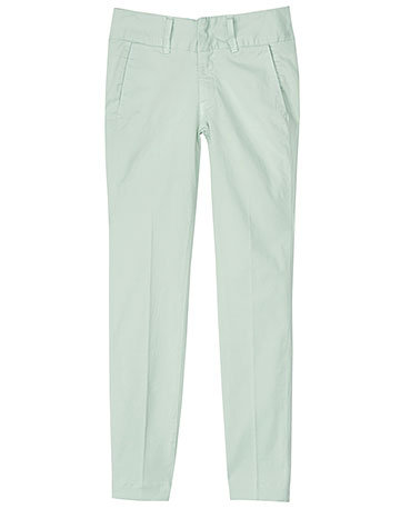 Stay cool and polished in a pair of mint-colored pants. Rag & Bone Olivia Pant ($209)