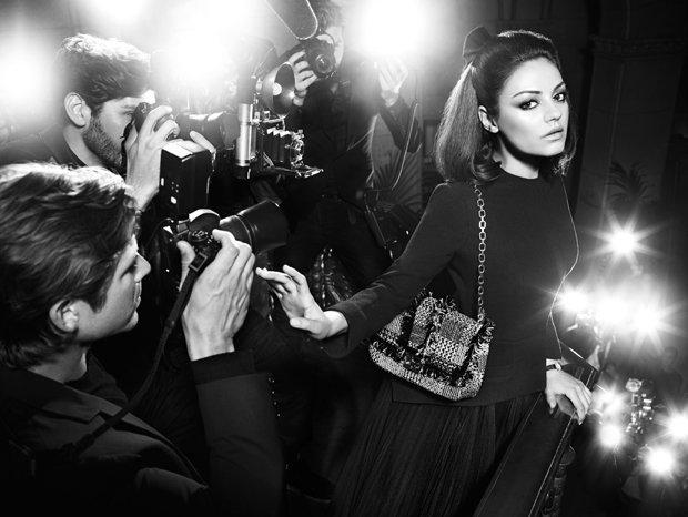 Mila Kunis Takes Another Ladylike Turn For Dior's Fall Campaign