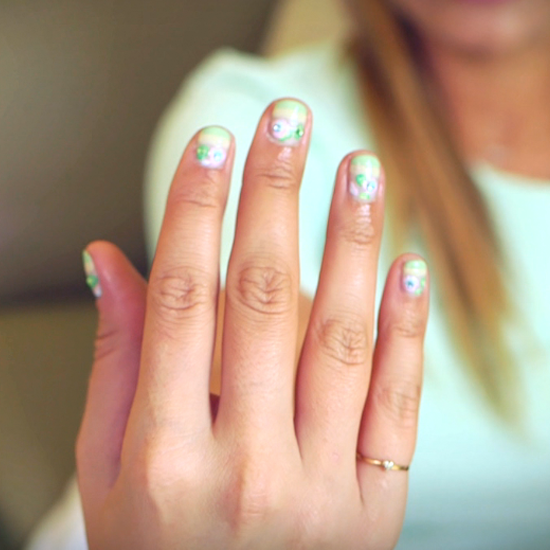 Watch a DVF-Inspired Nail Art Look Unfold