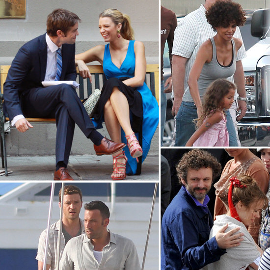 Blake Lively, Ben Affleck, Rachel McAdams, and More Stars on the Set