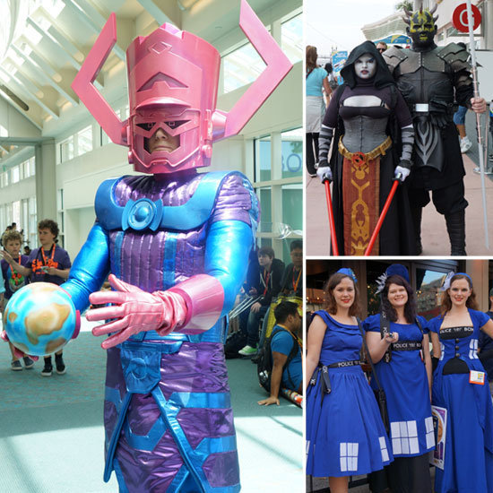 Costumes Shine at Comic-Con