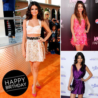 See Selena Gomez's Sexiest Minidress Moments; We salute the Birthday Girl's Fashion Evolution
