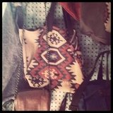 We spied some covetable Navajo-inspired bags at Alternative Apparel's holiday preview.