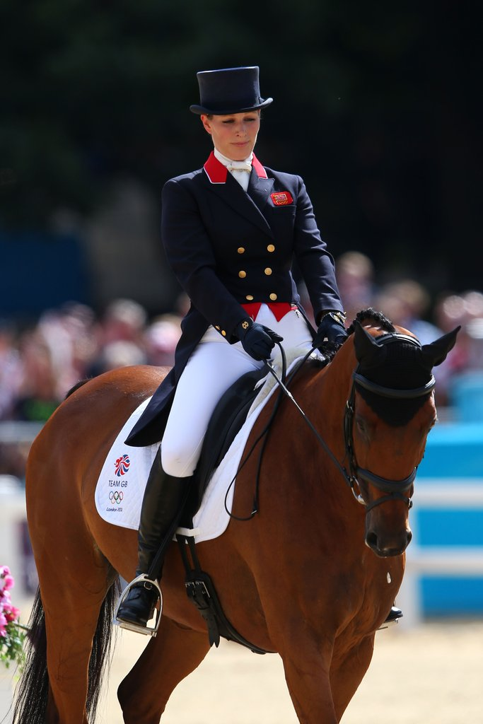 Zara Philips, the queen's granddaughter, competed for Team GB.