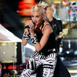 Gwen Stefani Beaded Bangles at Teen Choice Awards 2012