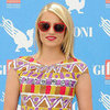 Dianna Agron Wearing Red Sunglasses