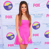 Selena Gomez Pink Dress at 2012 Teen Choice Awards