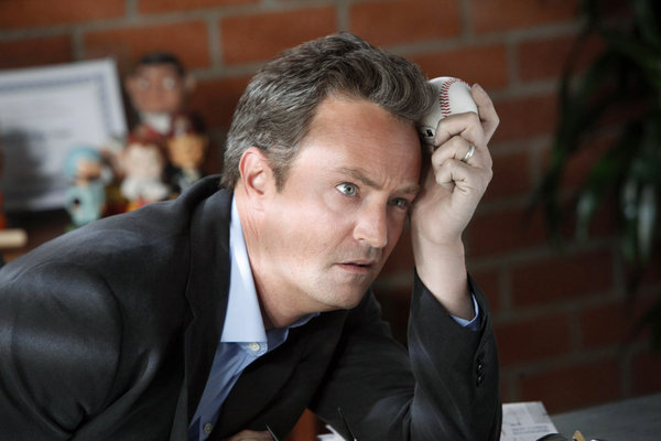 Matthew Perry in Go On. Photo courtesy of NBC